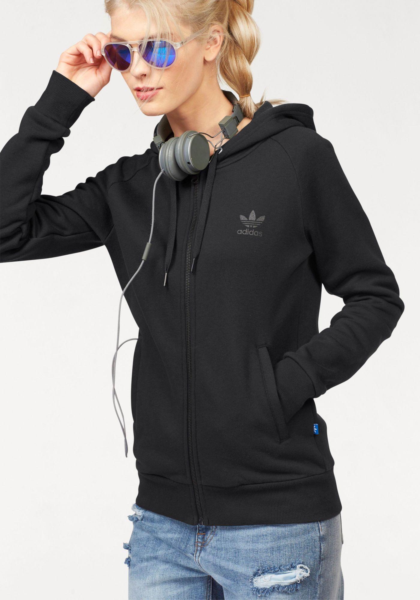 ADIDAS ORIGINALS adidas Originals Kapuzensweatjacke »FZ HOODIE FLE«