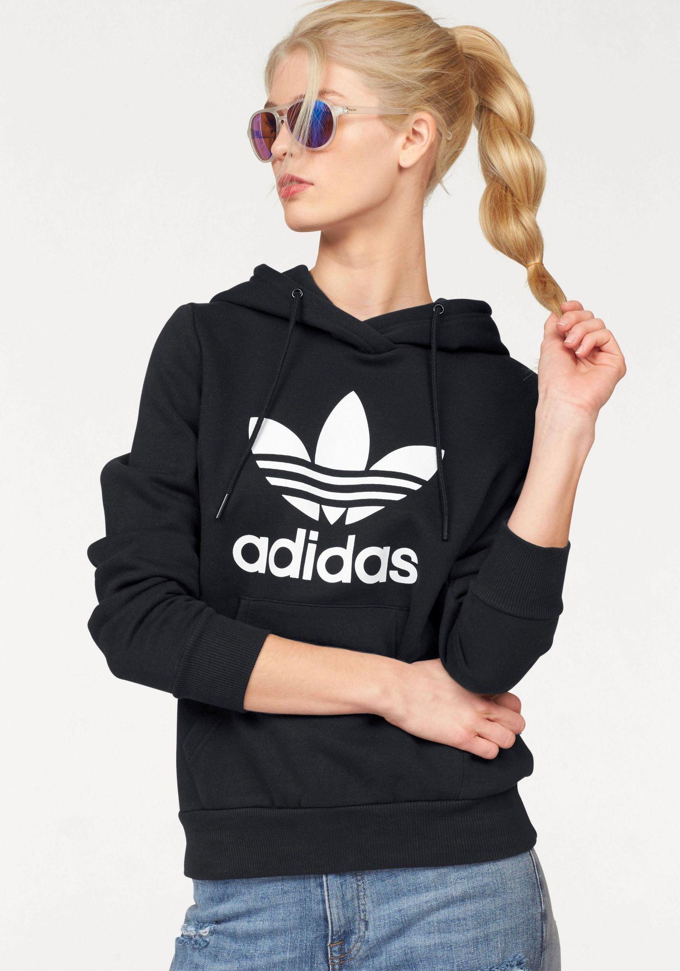 ADIDAS ORIGINALS adidas Originals Kapuzensweatshirt »TREFOIL LOGO HOODIE«