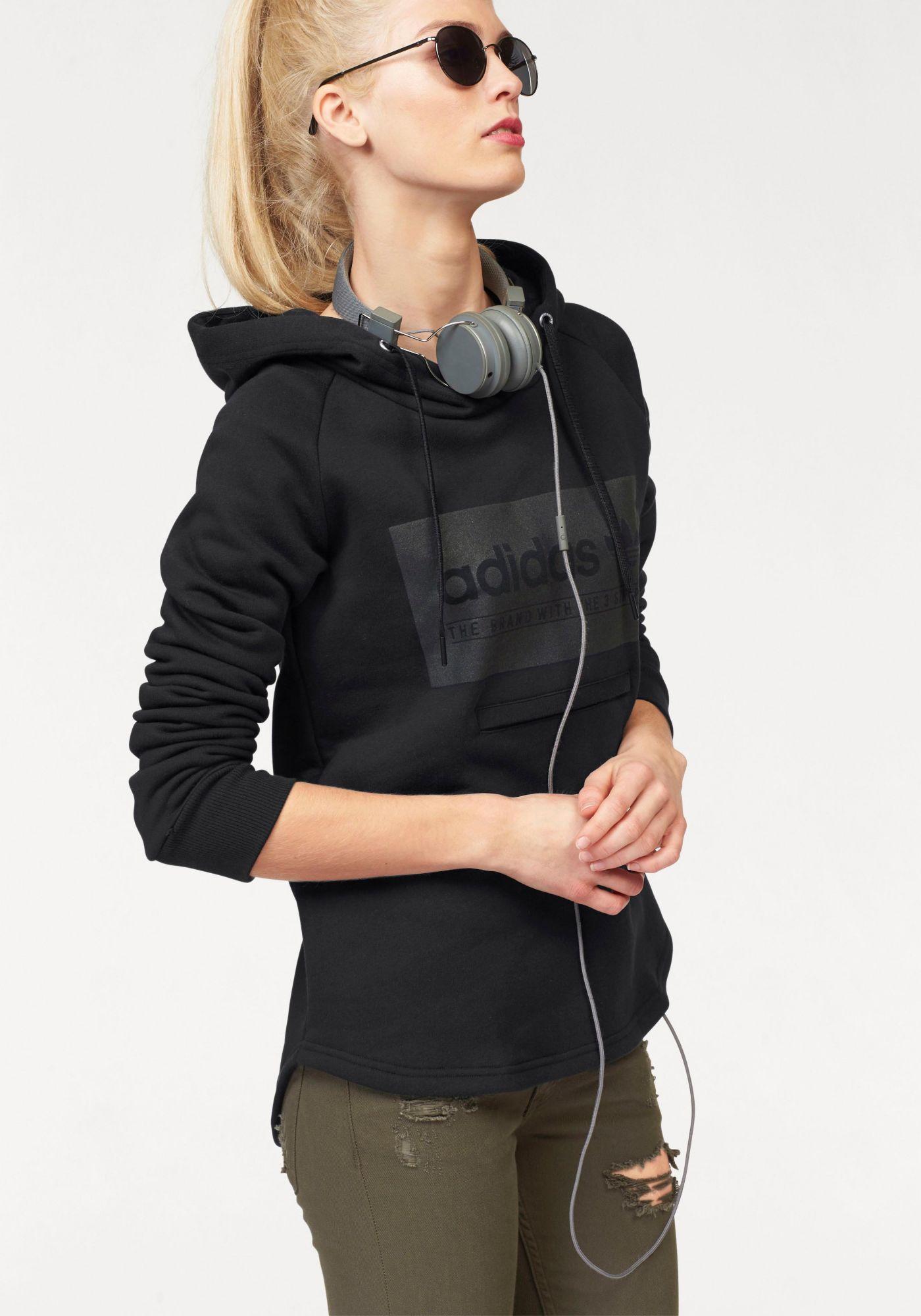ADIDAS ORIGINALS adidas Originals Kapuzensweatshirt »HOODIE FLE«