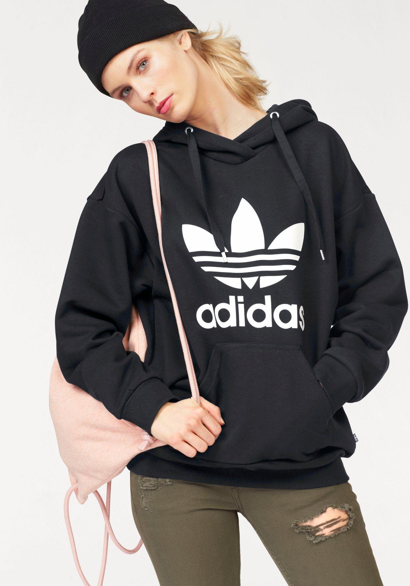 ADIDAS ORIGINALS adidas Originals Kapuzensweatshirt »TREFOIL HOODIE«