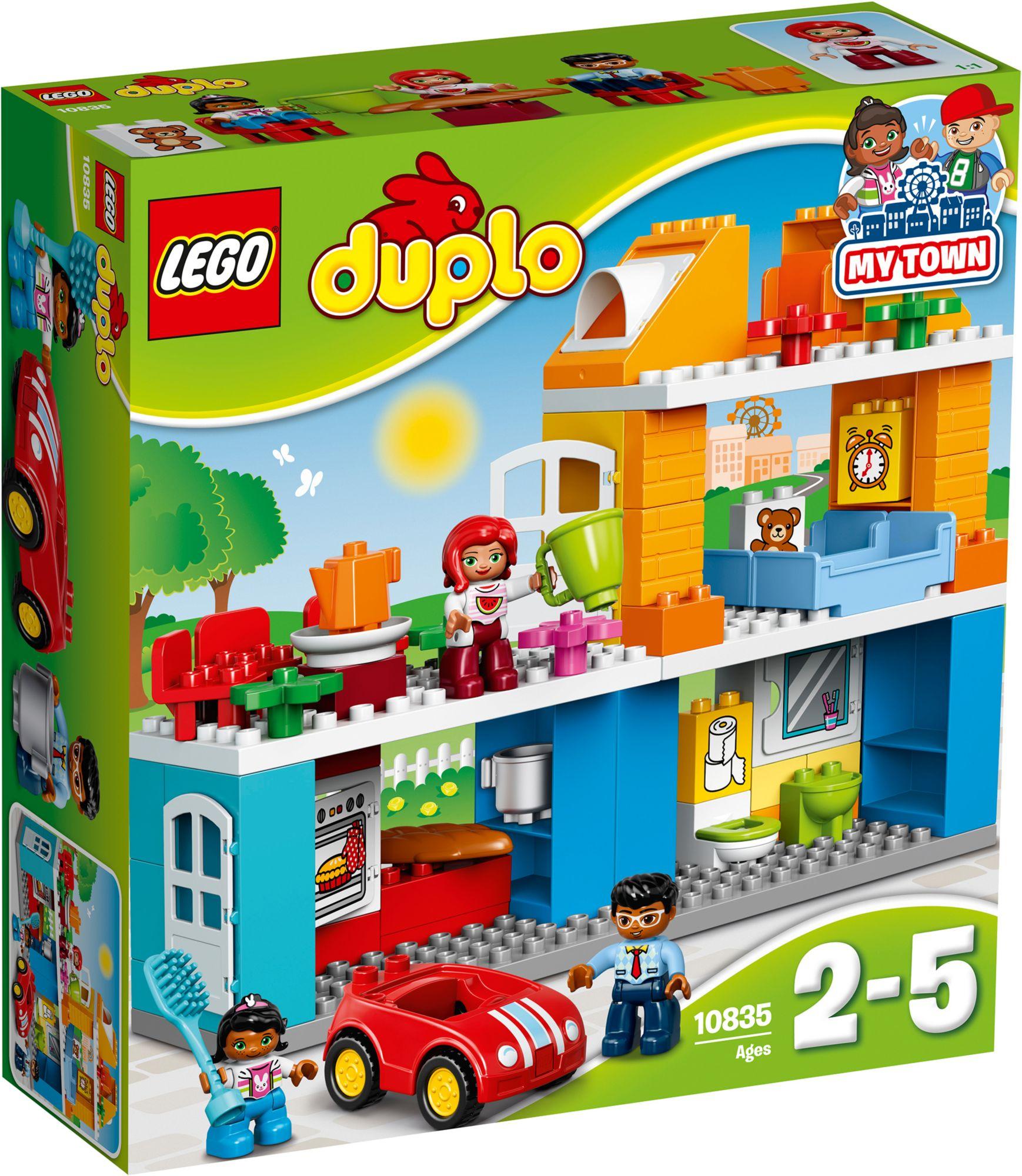 LEGO® 10835 DUPLO Familienhaus, Konstruktionsspielzeug