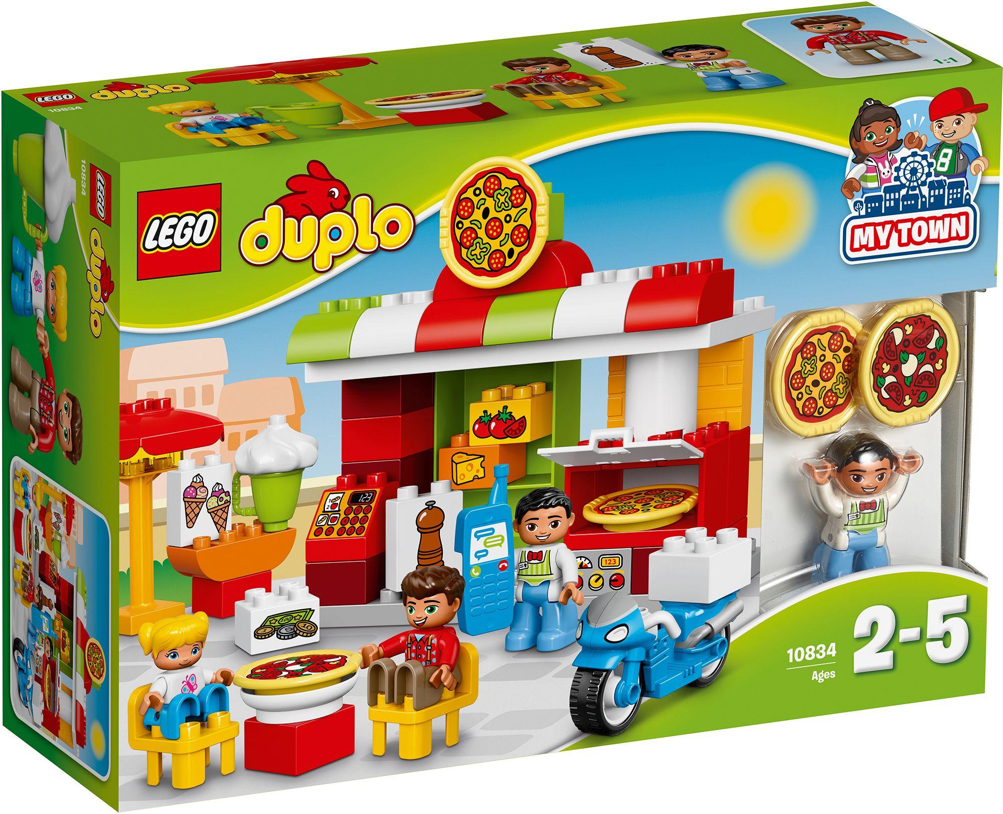 LEGO® 10834 DUPLO Pizzeria, Konstruktionsspielzeug