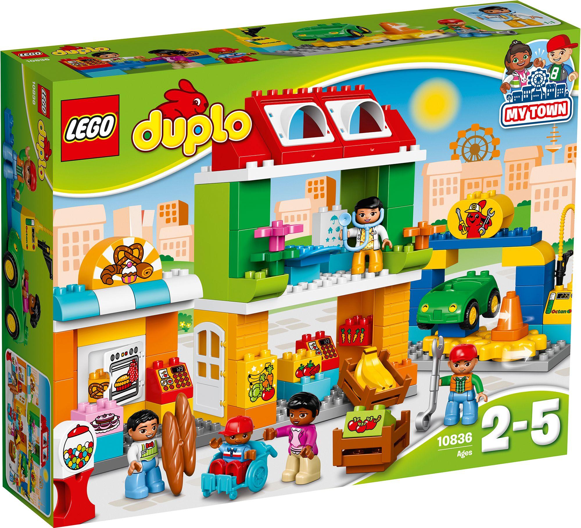 LEGO® 10836 DUPLO Stadtviertel, Konstruktionsspielzeug