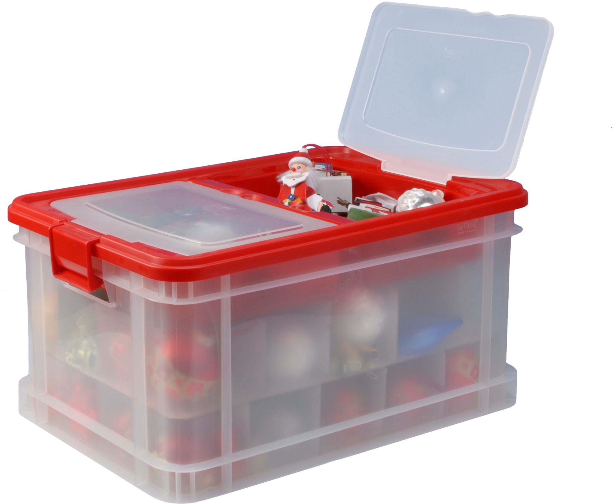 GIES  Aufbewahrungsbox, 45 Liter, »X-Mas Family«