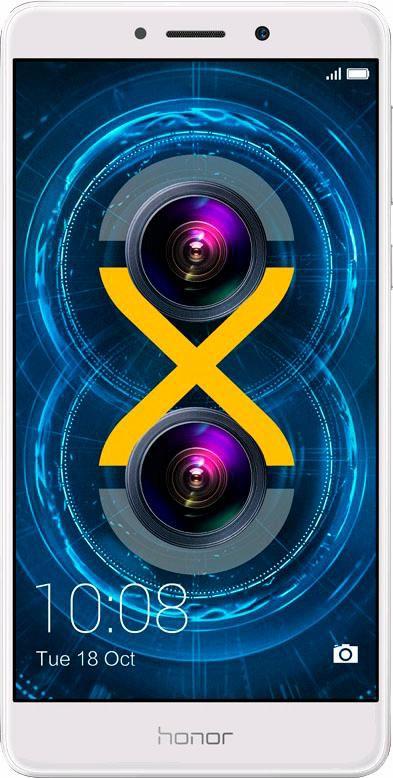 HONOR Honor 6x - 64GB Smartphone, 13,97 cm (5,5 Zoll) Display, LTE (4G), 12,0 Megapixel
