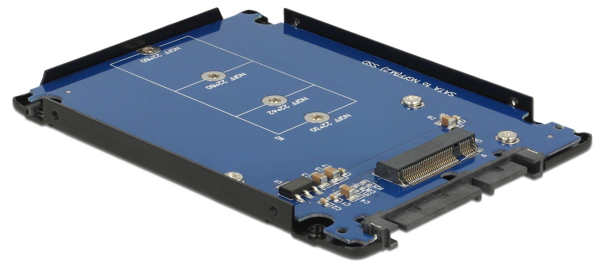 """DELOCK 2,5"""" SATA 22 Pin > M.2 NGFF, Serial ATA-Controller"""