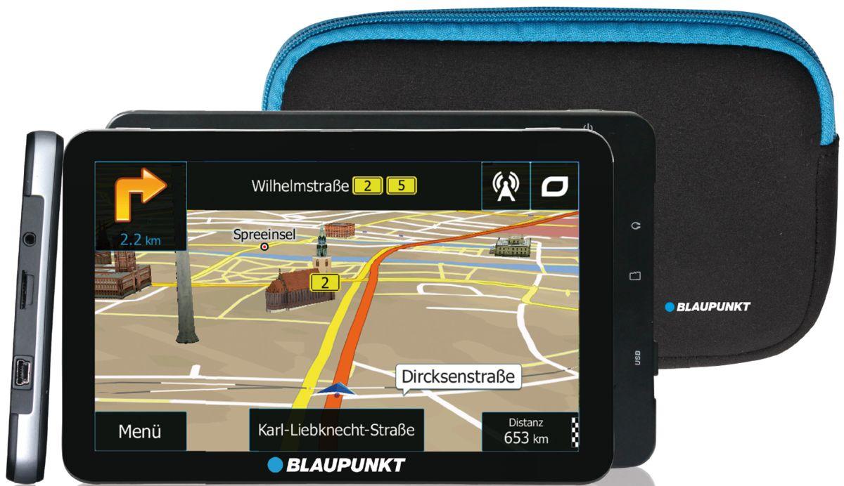 BLAUPUNKT Blaupunkt Navigationsgerät »Travelpilot 73² CE LMU inkl. Tasche«
