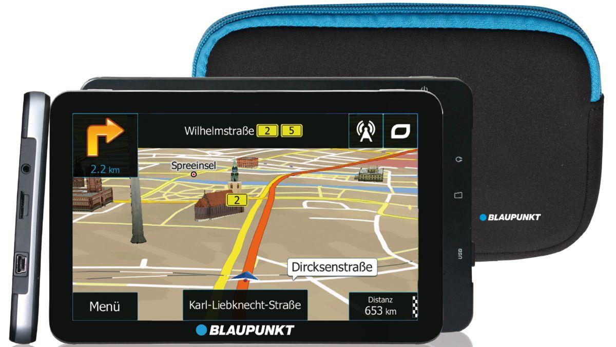 BLAUPUNKT Blaupunkt Navigationsgerät »Travelpilot 73² EU LMU inkl. Tasche«