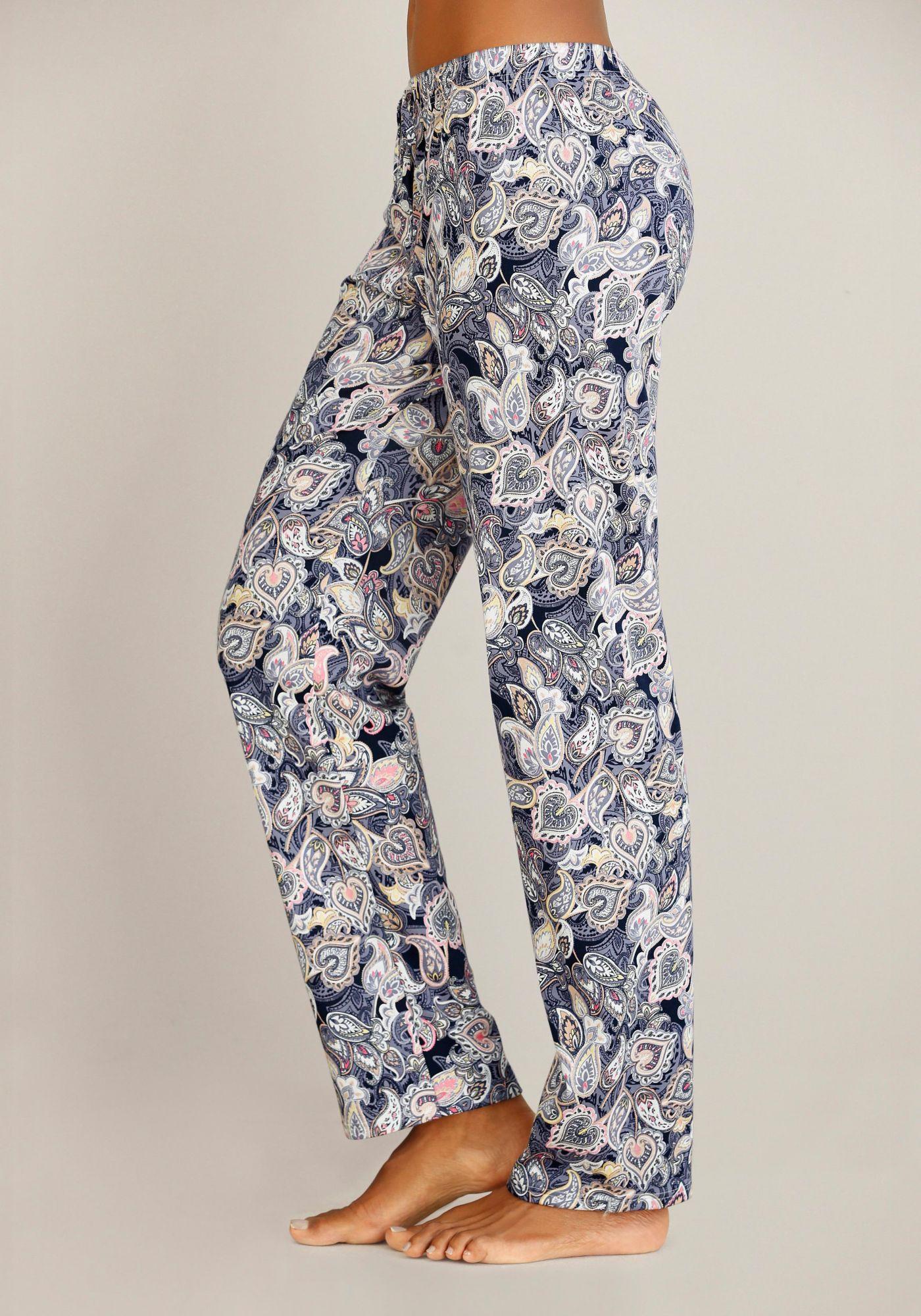 CALIDA Calida Pyjamahose mit Paisleymuster