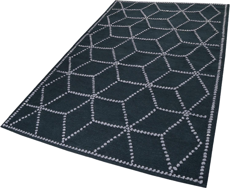 Teppich, Esprit, »Fiesta«, Höhe 5 mm, handgewebt