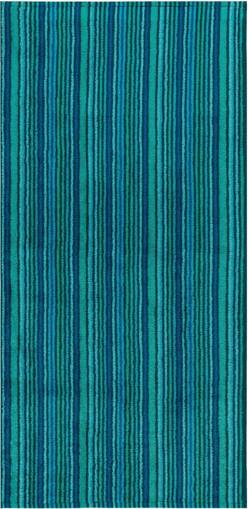EGERIA Badetuch, Egeria, »Combi Stripes«, mit feinen Streifen