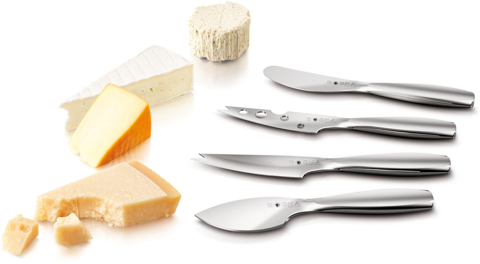 BOSKA HOLLAND BOSKA Holland Käse-Messer-Set, Edelstahl, 4 Teile, »Mini«