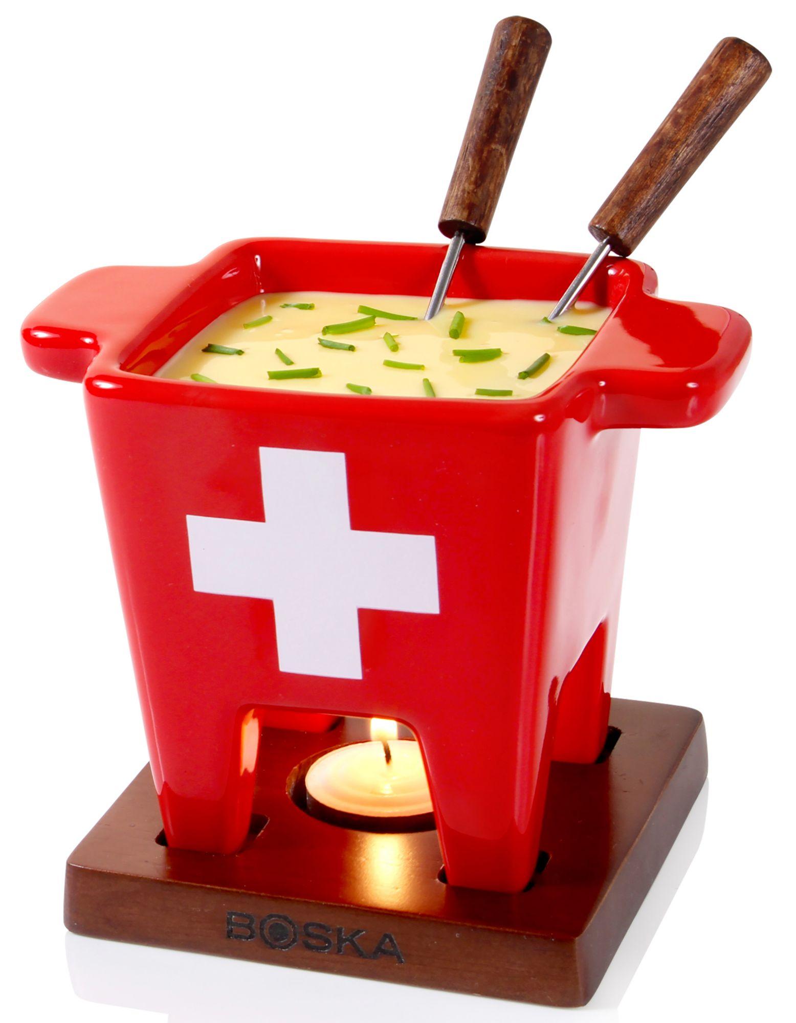 BOSKA HOLLAND BOSKA Holland Tapas Fondue-Set, 200 ml, »Swiss«