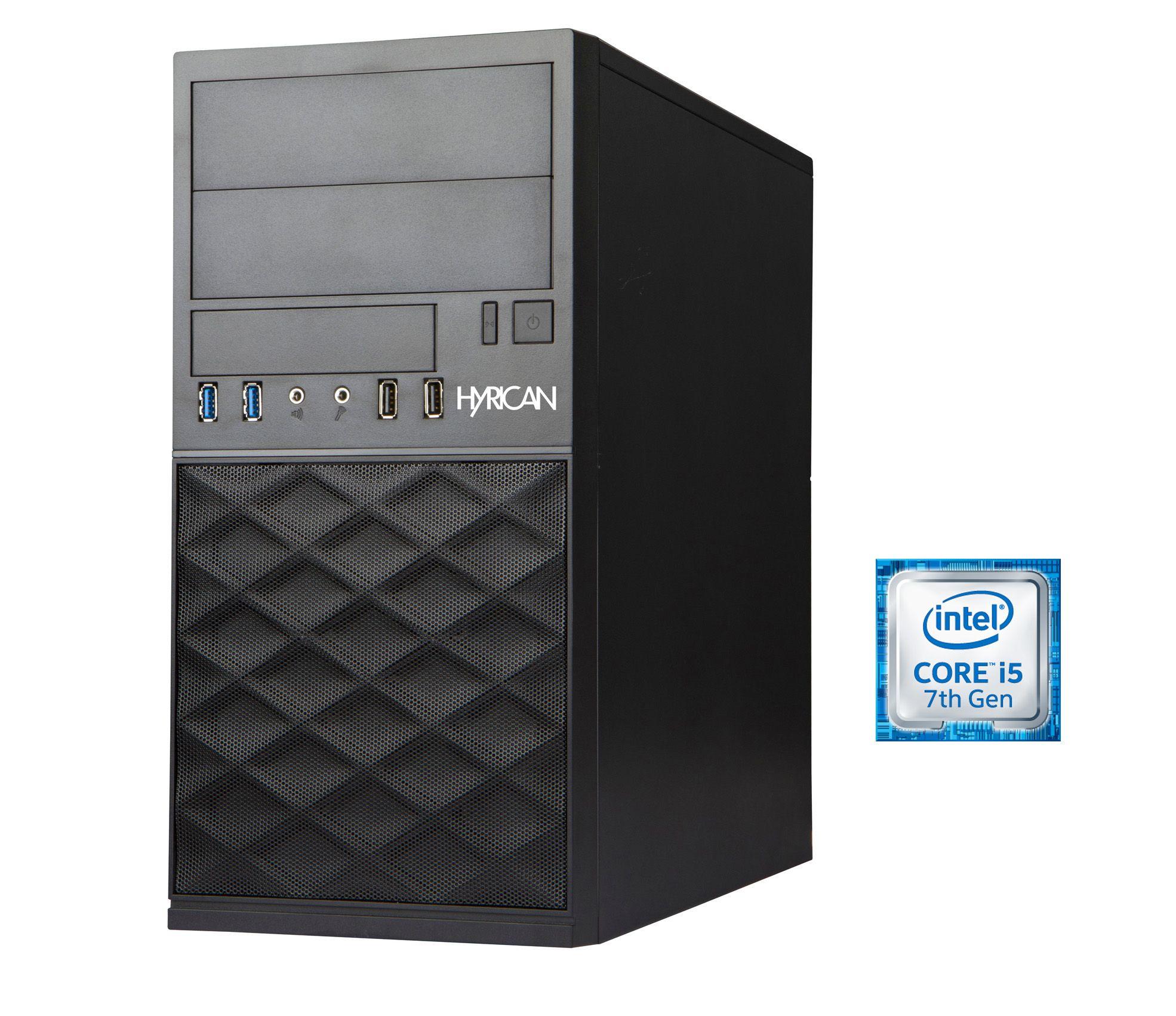 HYRICAN Hyrican Business PC Intel® i5-7400, 8GB, SSD+HDD, Windows 10 Pro Lizenz »Business CTS00402«