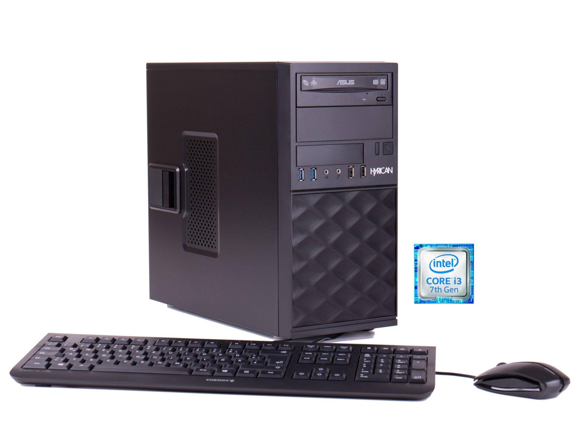 HYRICAN Hyrican Business PC Intel® Core i3-7100, 4GB, 120GB, Windows 10 Pro »Business CTS00392«