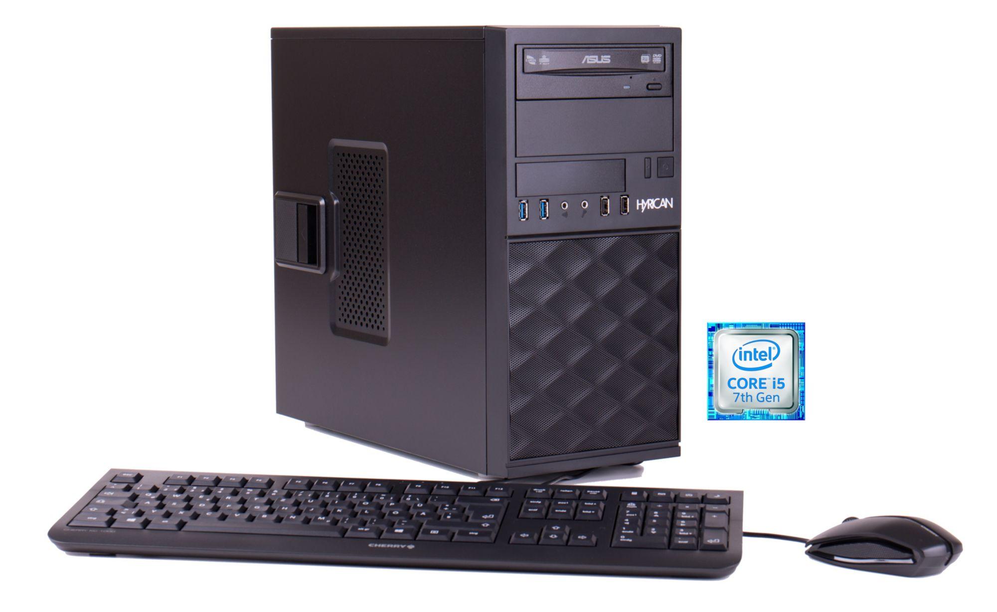 HYRICAN Hyrican Business PC Intel® i5-7400, 8GB, 240GB, Windows 10 Pro Lizenz »Business CTS00399«