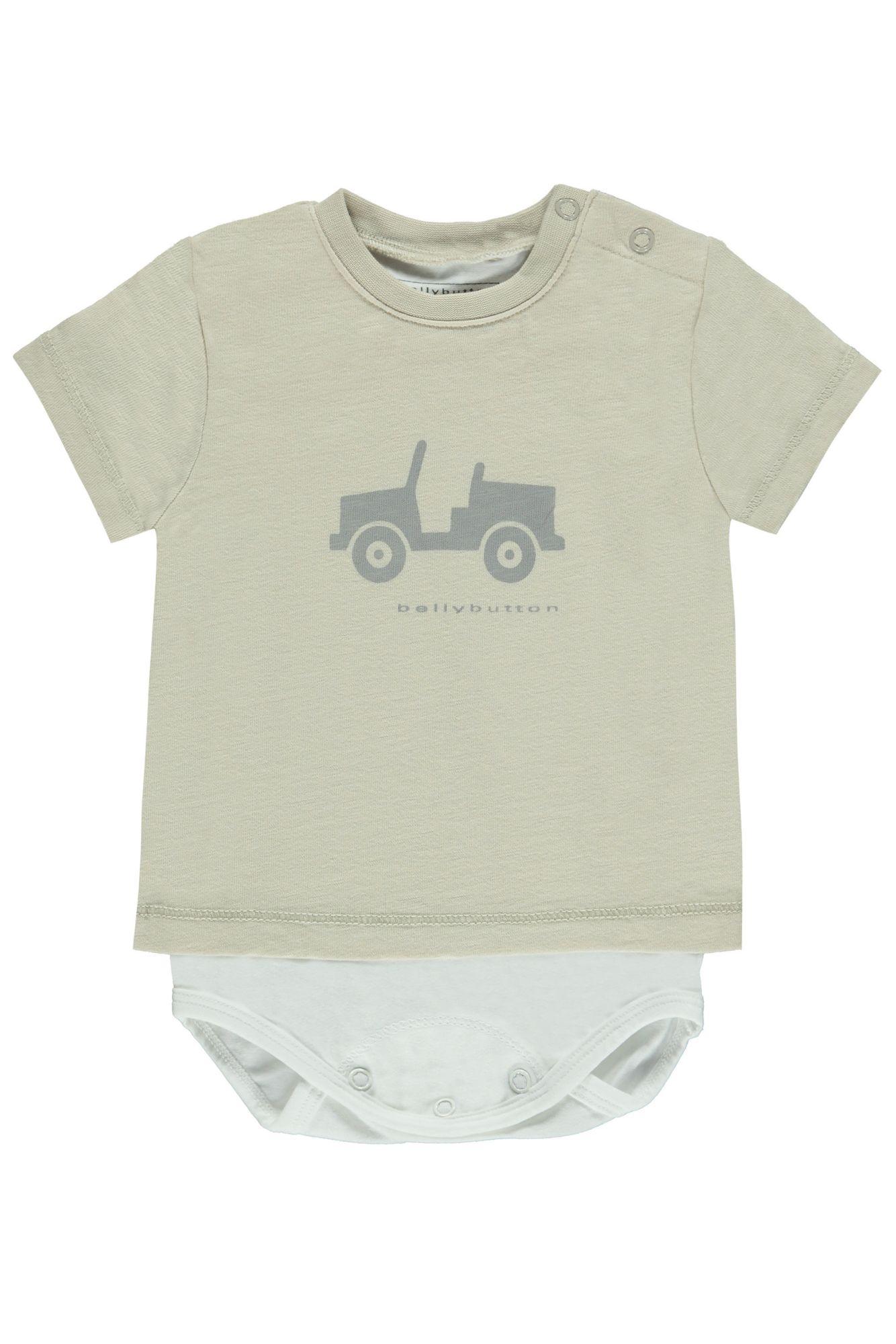 BELLYBUTTON  2in1 Body mit Shirt, Print Motiv vorn