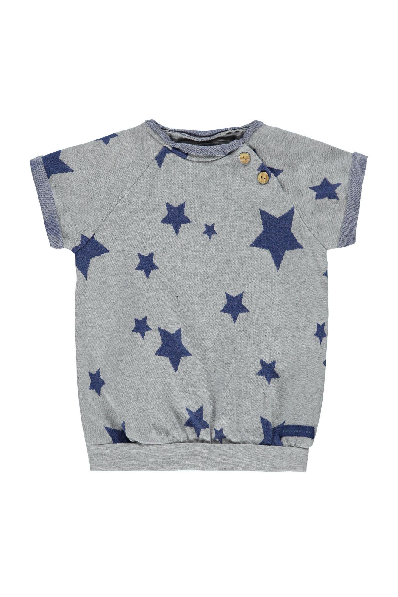 BELLYBUTTON  Babykleidchen, Kurzarm mit Sternen