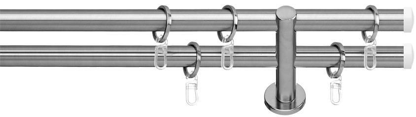 INDEKO Gardinenstange 1- oder 2-läufig nach Maß, indeko, »Consul«, ø 16 mm