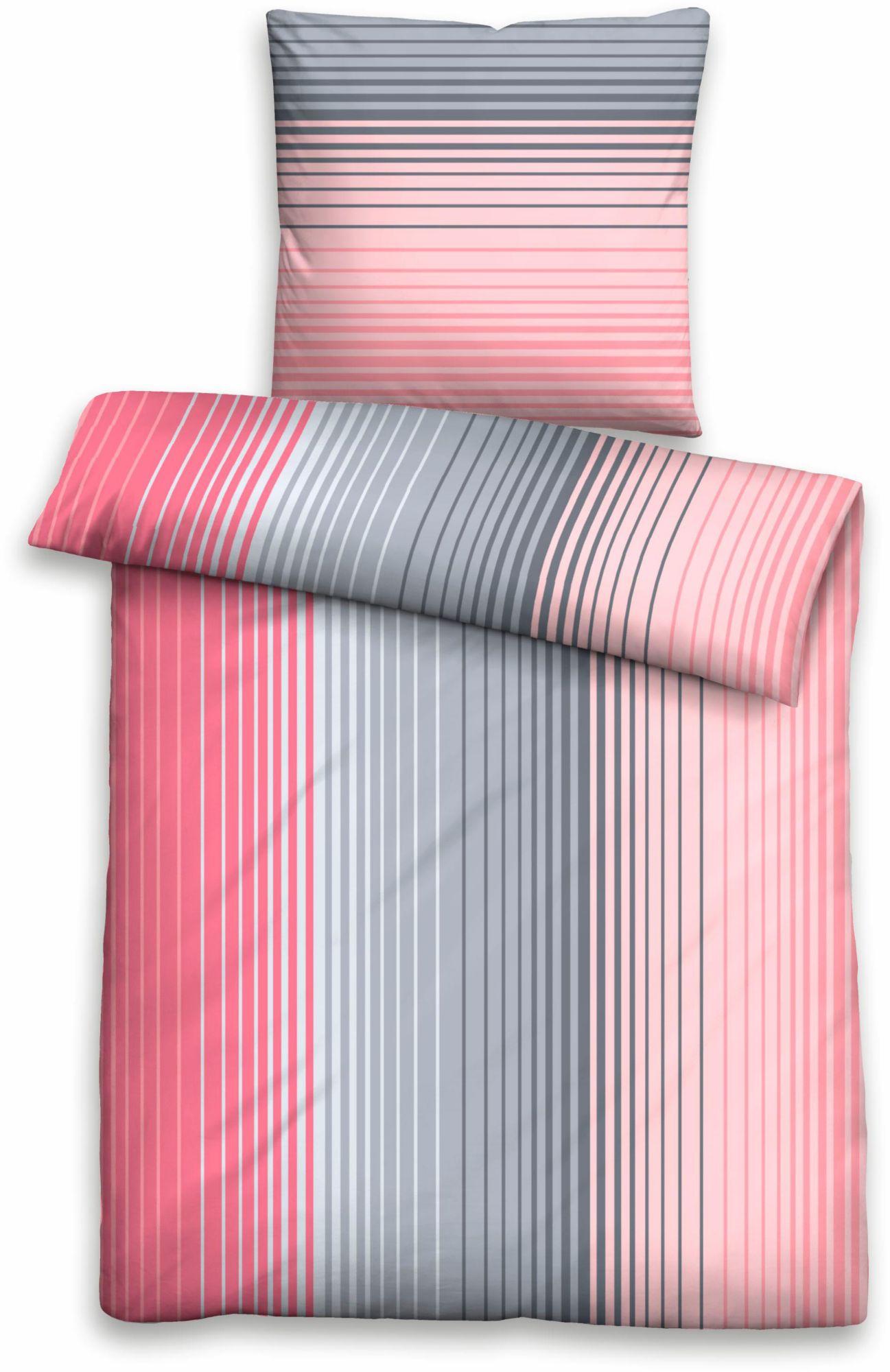 BIBERNA Bettwäsche, Biberna, »Lab«, im Streifen Design