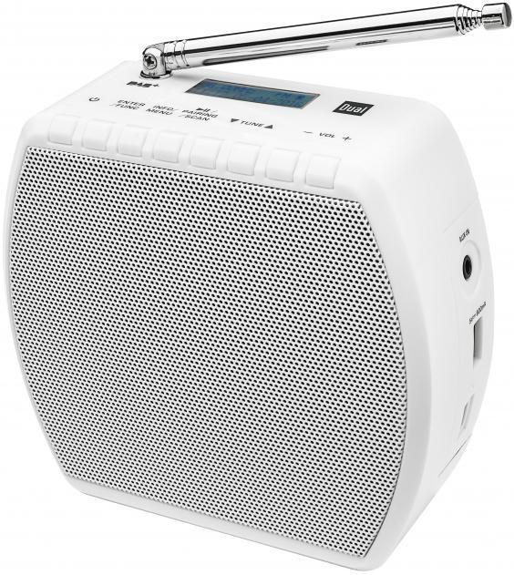 DUAL Dual DAB STR 100 Portables DAB+ / UKW Radio mit abnehmbaren Stecker und Bluetooth Radio Digitalradio (DAB+) Bluetooth 1x USB