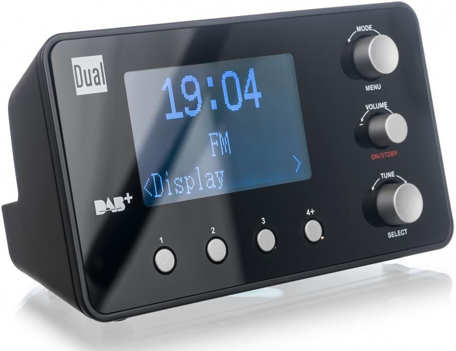 DUAL Dual DAB CR 25.1 DAB(+) / UKW Radiowecker Radiowecker Digitalradio (DAB+)