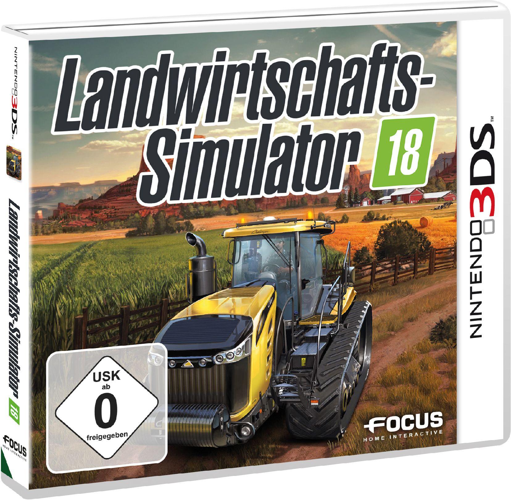 ASTRAGON Astragon Landwirtschafts-Simulator 18 »3DS«