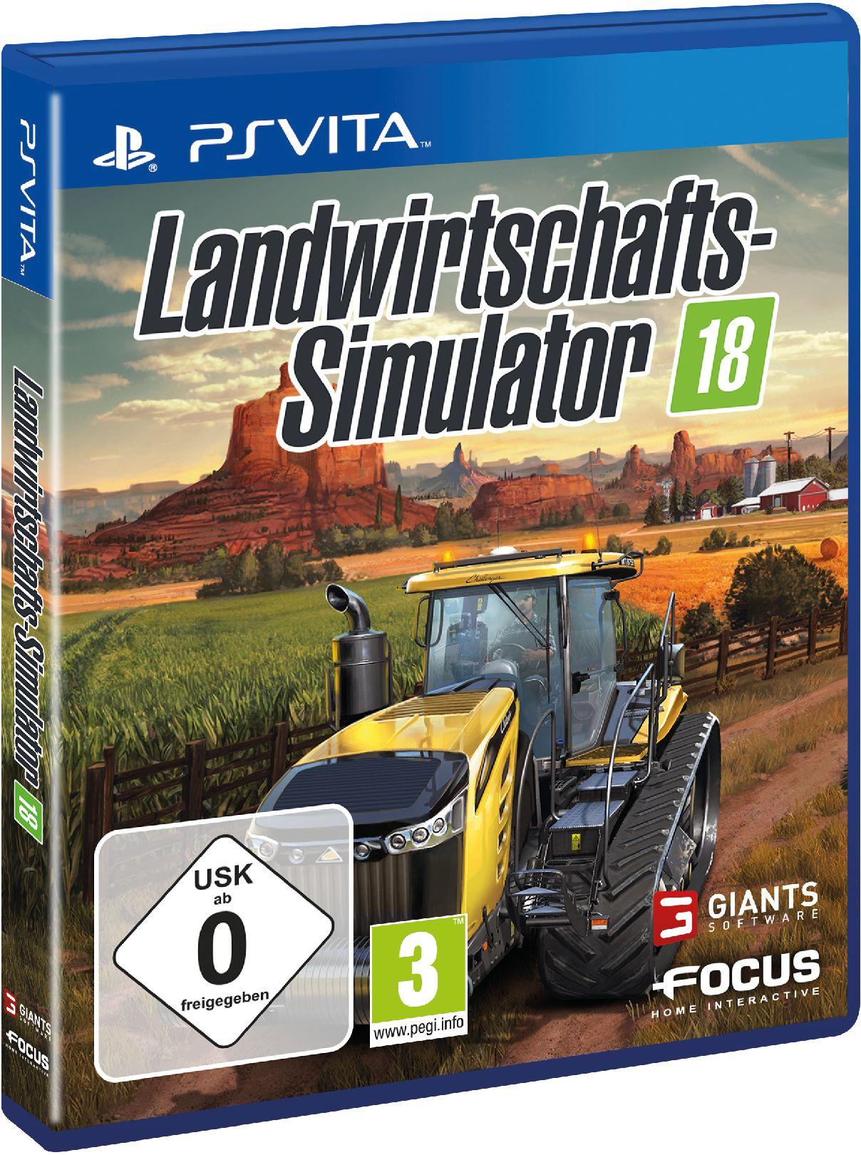 ASTRAGON Astragon Landwirtschafts-Simulator 18 »PS-Vita«