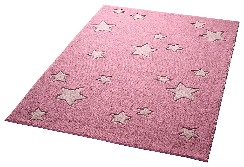 Kinder-Teppich, Bellybutton, »Sternenzelt«, Höhe 10 mm, reine Schurwolle, handgetuftet