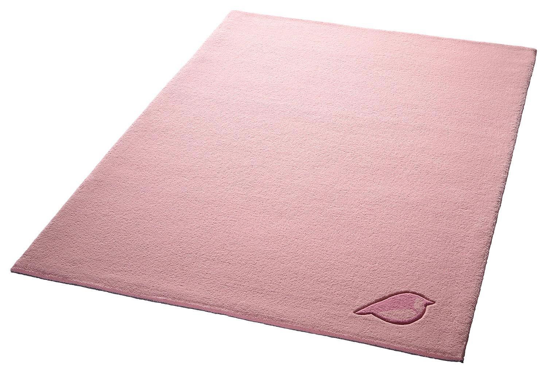 Kinder-Teppich, Bellybutton, »Vogelprinzessin«, Höhe 10 mm, reine Schurwolle, handgetuftet