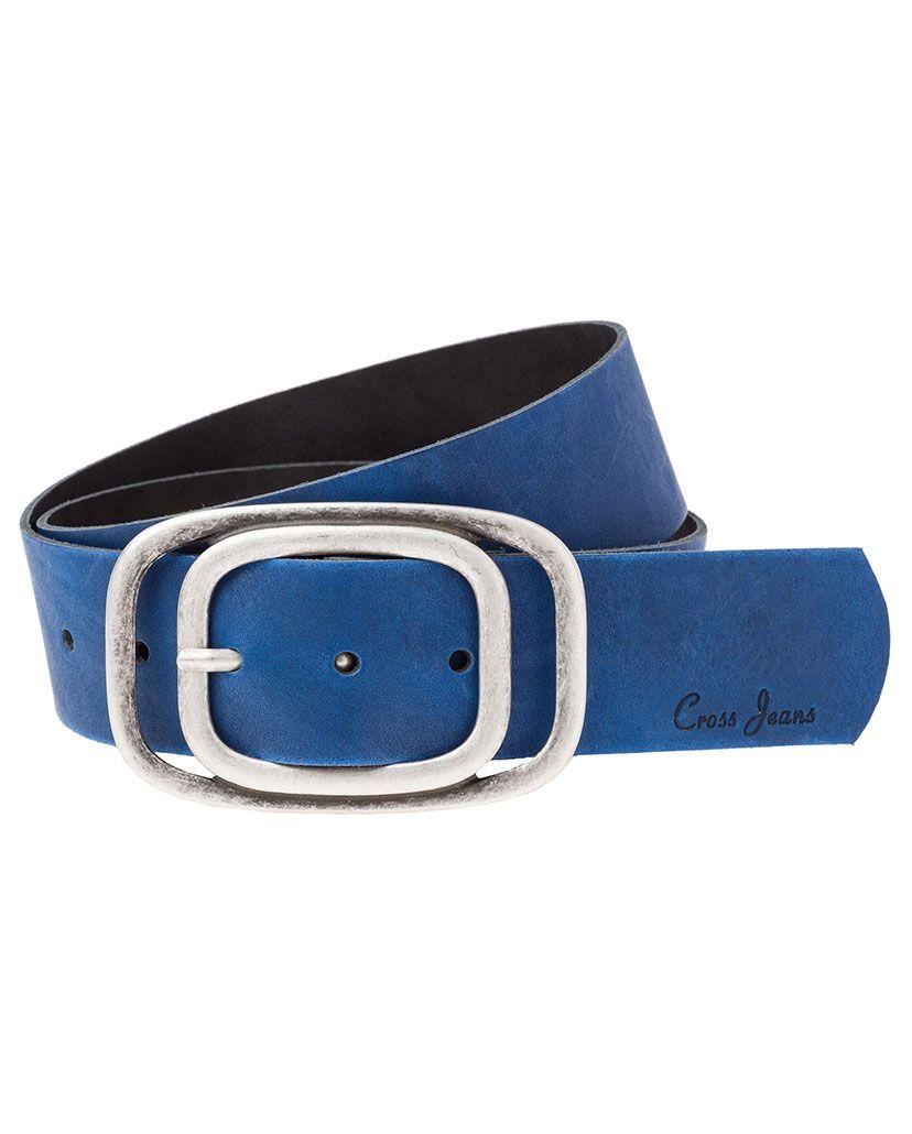 CROSS JEANS ® CROSS Jeans ® Ledergürtel mit rafinierter Schließe