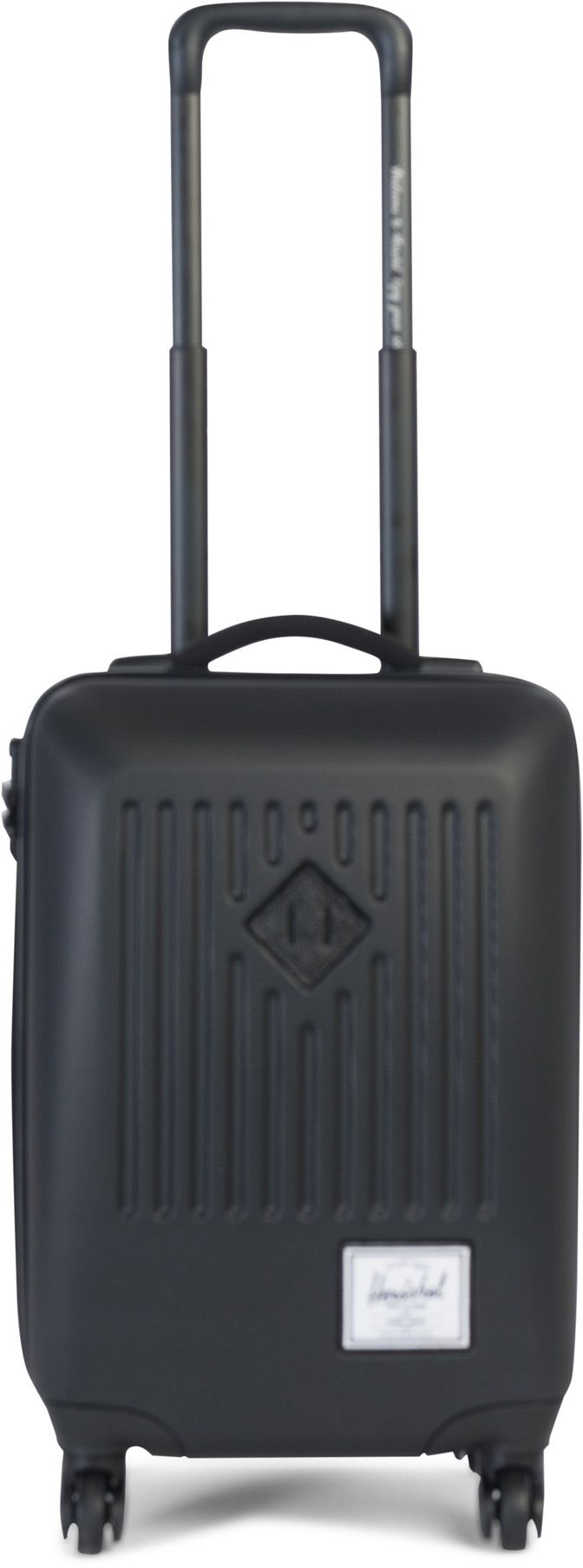 HERSCHEL Herschel Hartschalentrolley mit 4 Rollen, »Trade Carry On, Black«