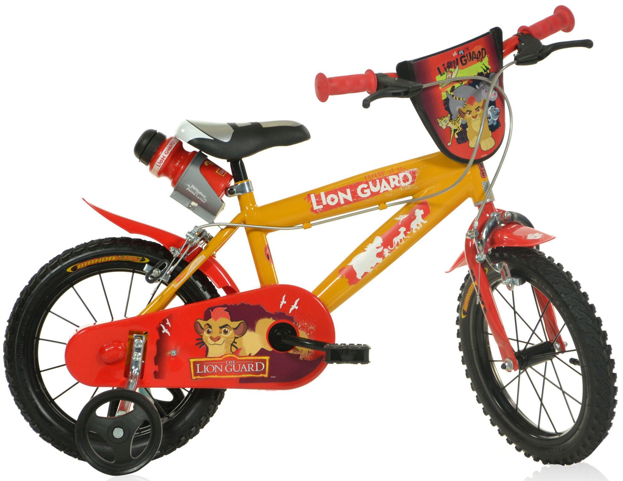 DINO Dino Kinderfahrrad, 14 & 16 Zoll, 1 Gang, »Lion Guard«