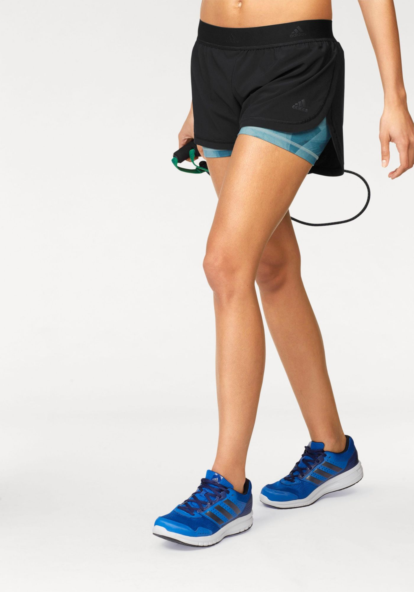 ADIDAS PERFORMANCE adidas Performance 2-in-1-Shorts »2IN1 AOP SHORT«
