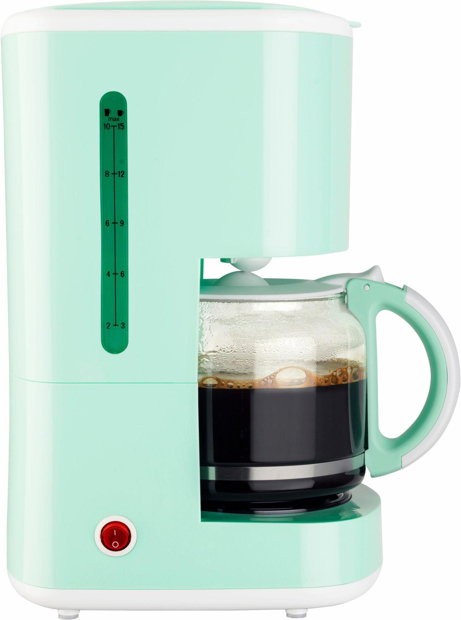 BESTRON Bestron Kaffeemaschine ACM300EVM, 920 Watt, mint
