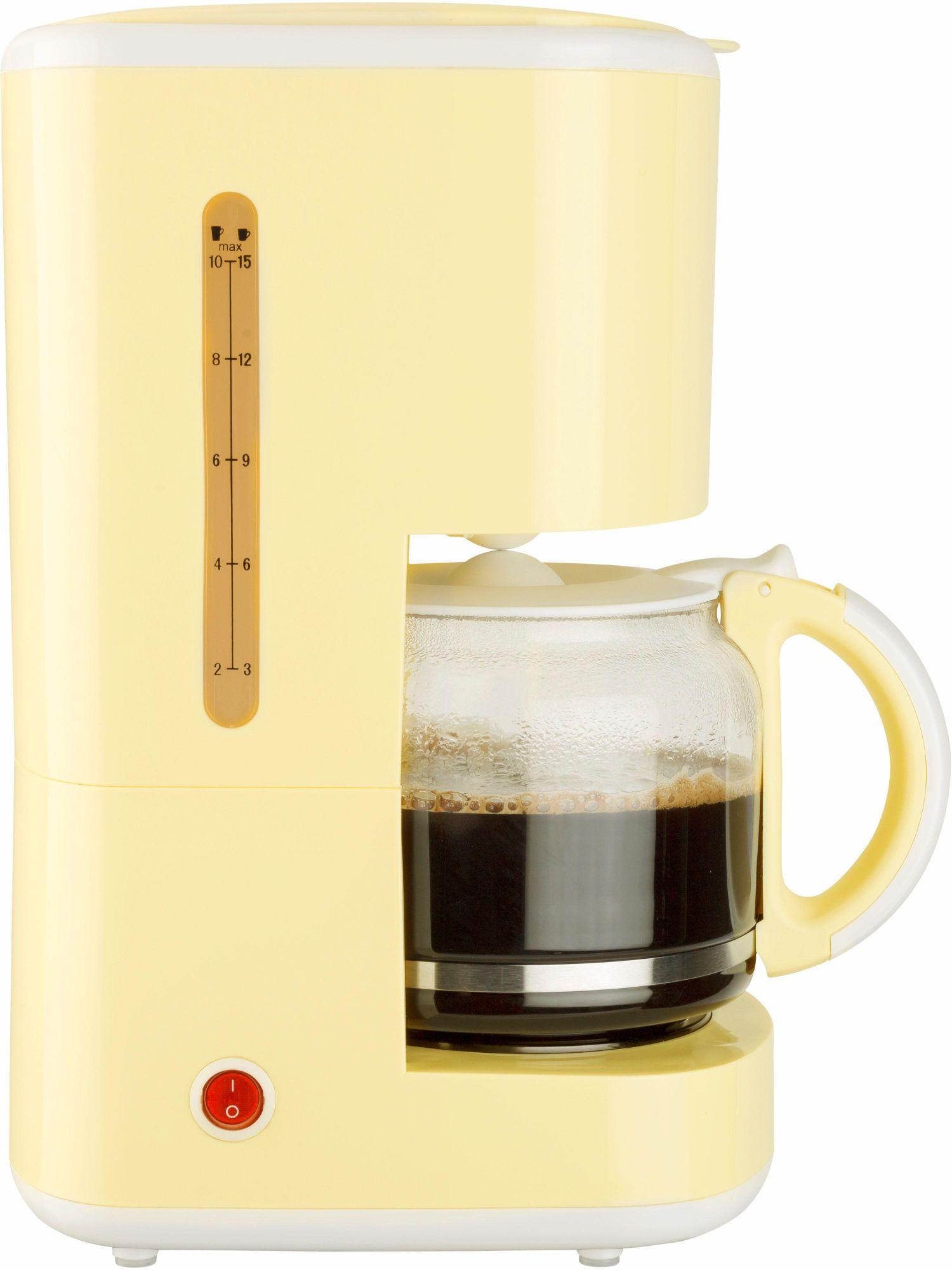 BESTRON Bestron Kaffeemaschine ACM300EVV, 920 Watt, vanille