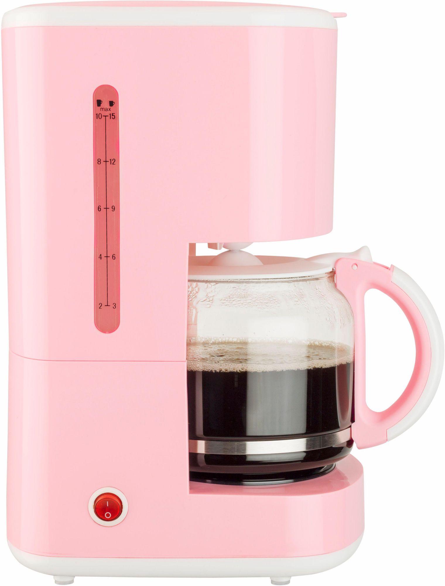 BESTRON Bestron Kaffeemaschine ACM300EVP, 920 Watt, rosa