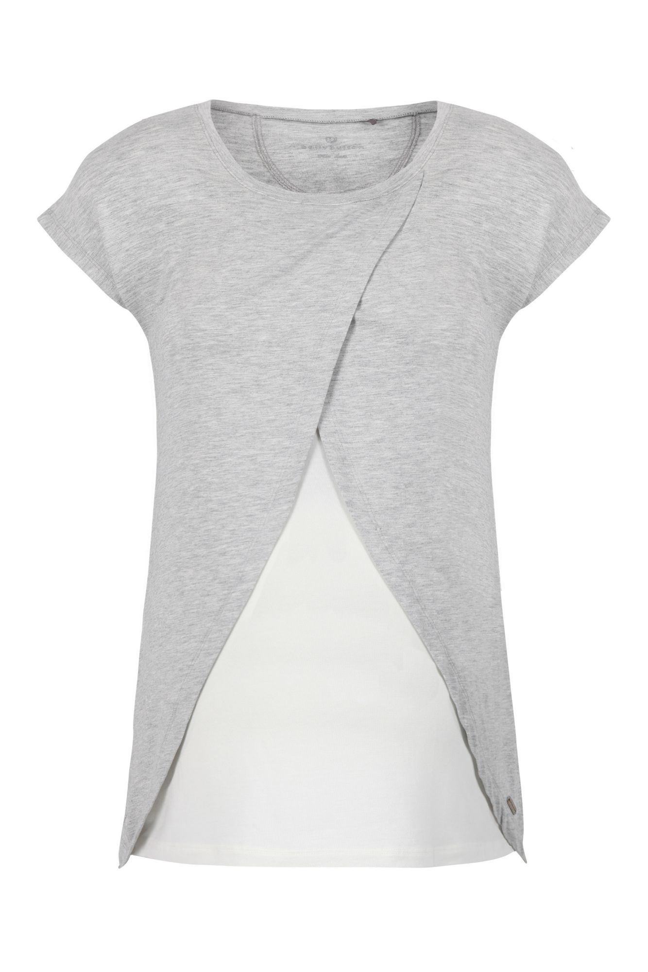 BELLYBUTTON  2in1 Stillshirt, Layer Optik