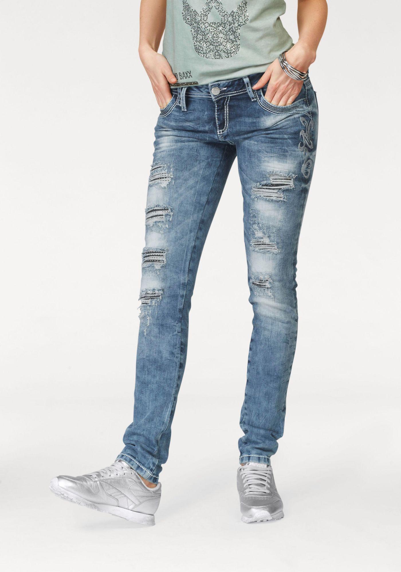 CIPO BAXX Cipo & Baxx Destroyed-Jeans