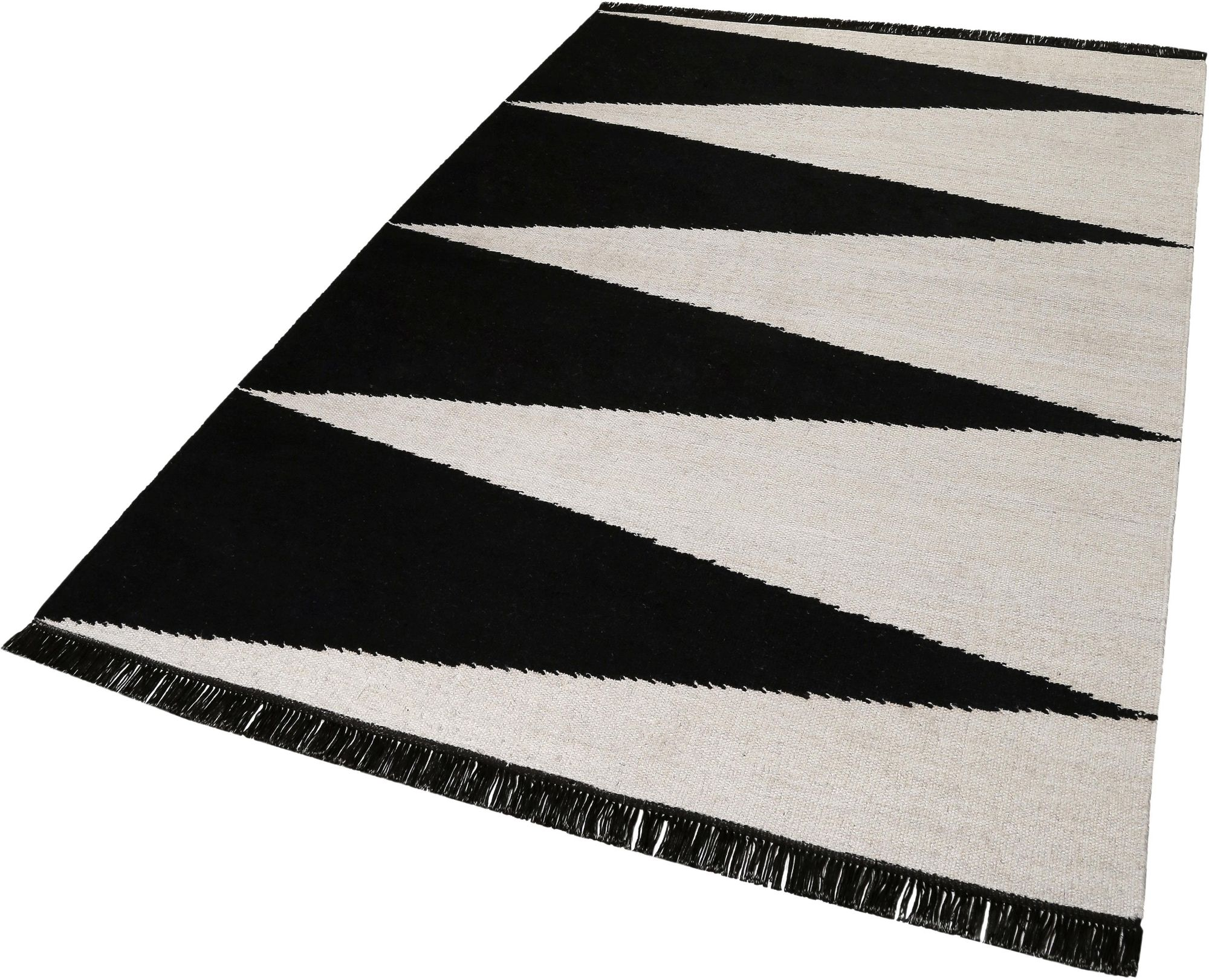 CARPETSCO Teppich, Carpets&Co, »Smart Triangle«, Höhe: 5 mm, handgewebt