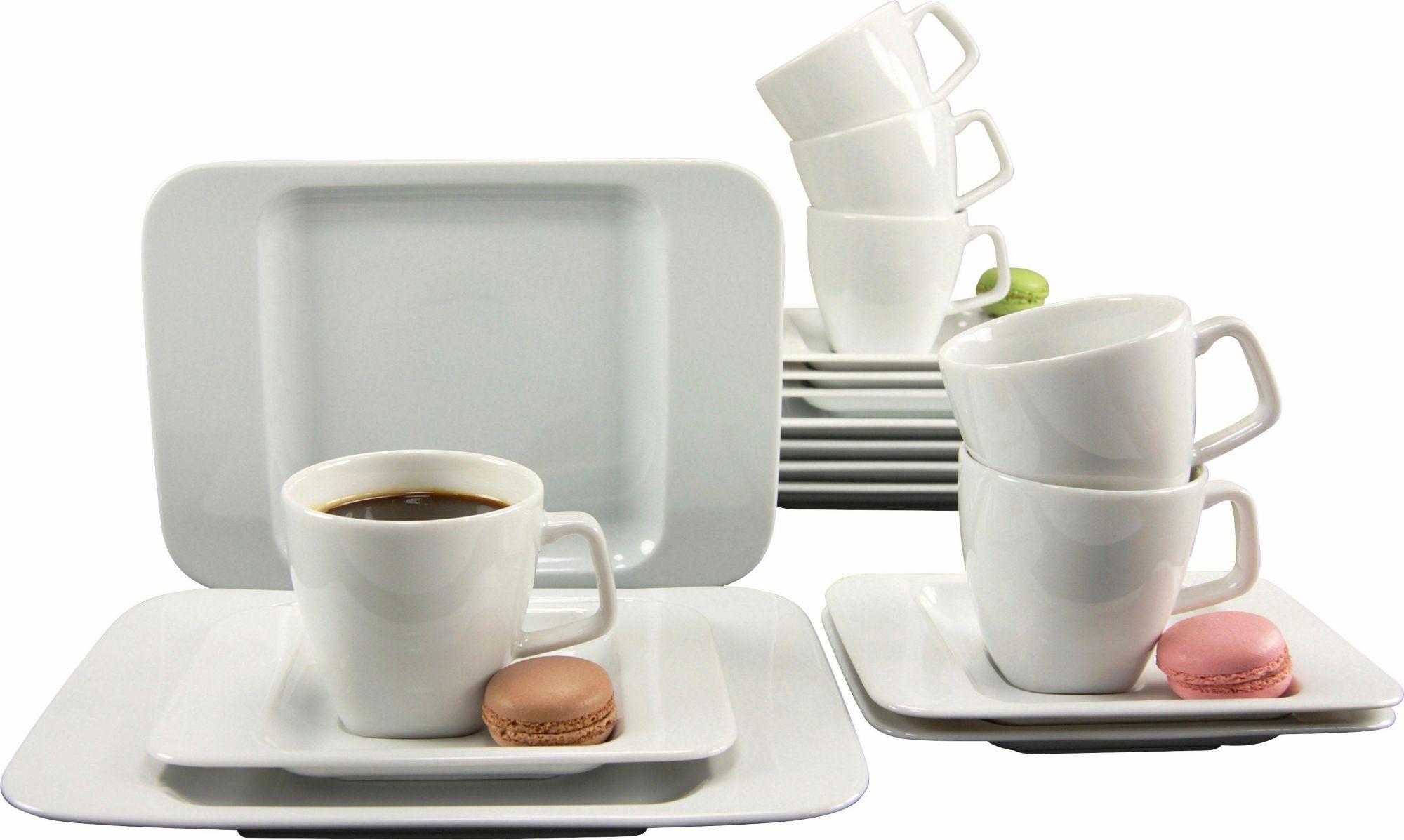 CREATABLE CreaTable Kaffeeservice, Porzellan, »Smart« (18-teilig)