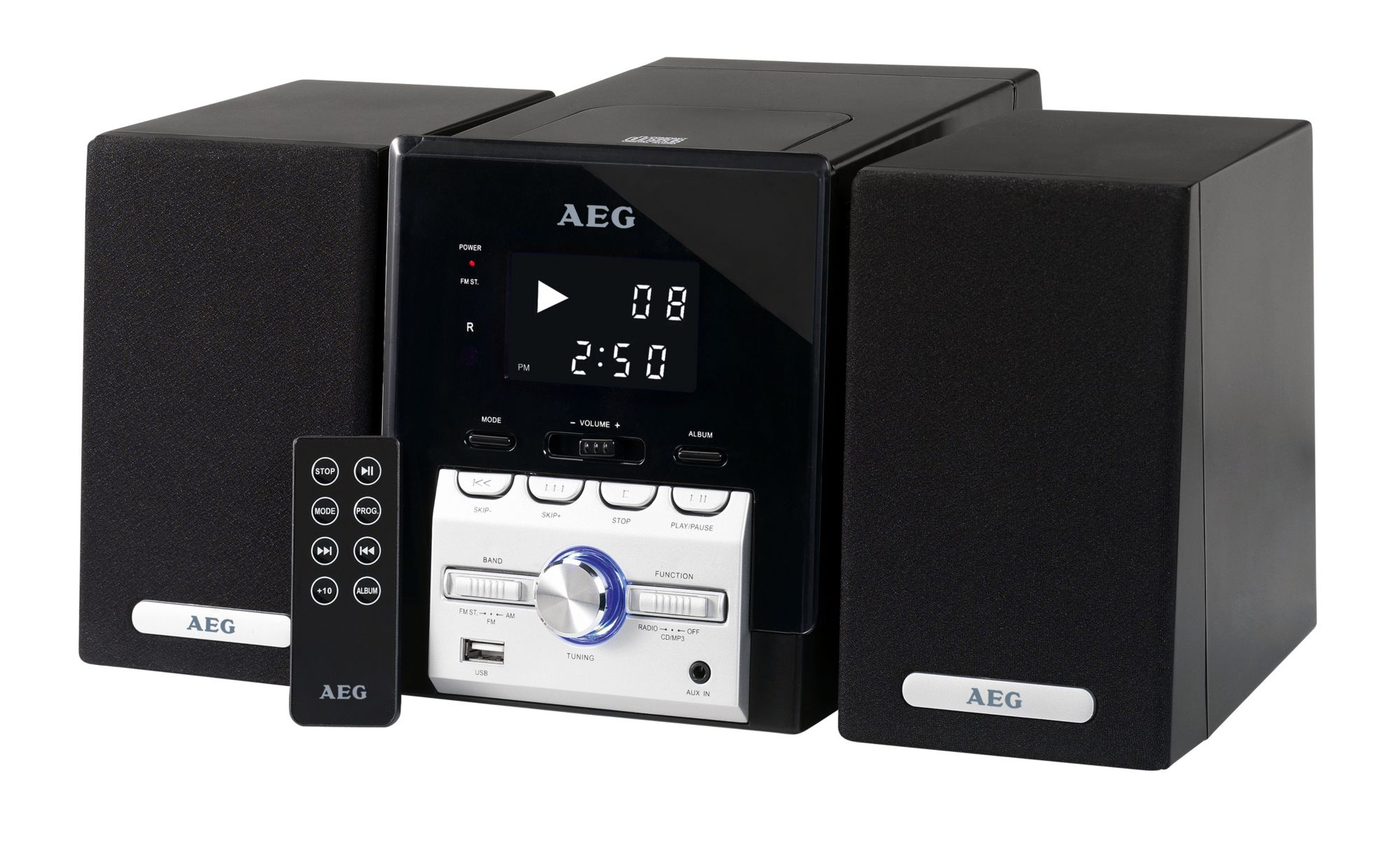 AEG  Kompaktanlage mit Radio & CD/MP3-Player »MC 4443«