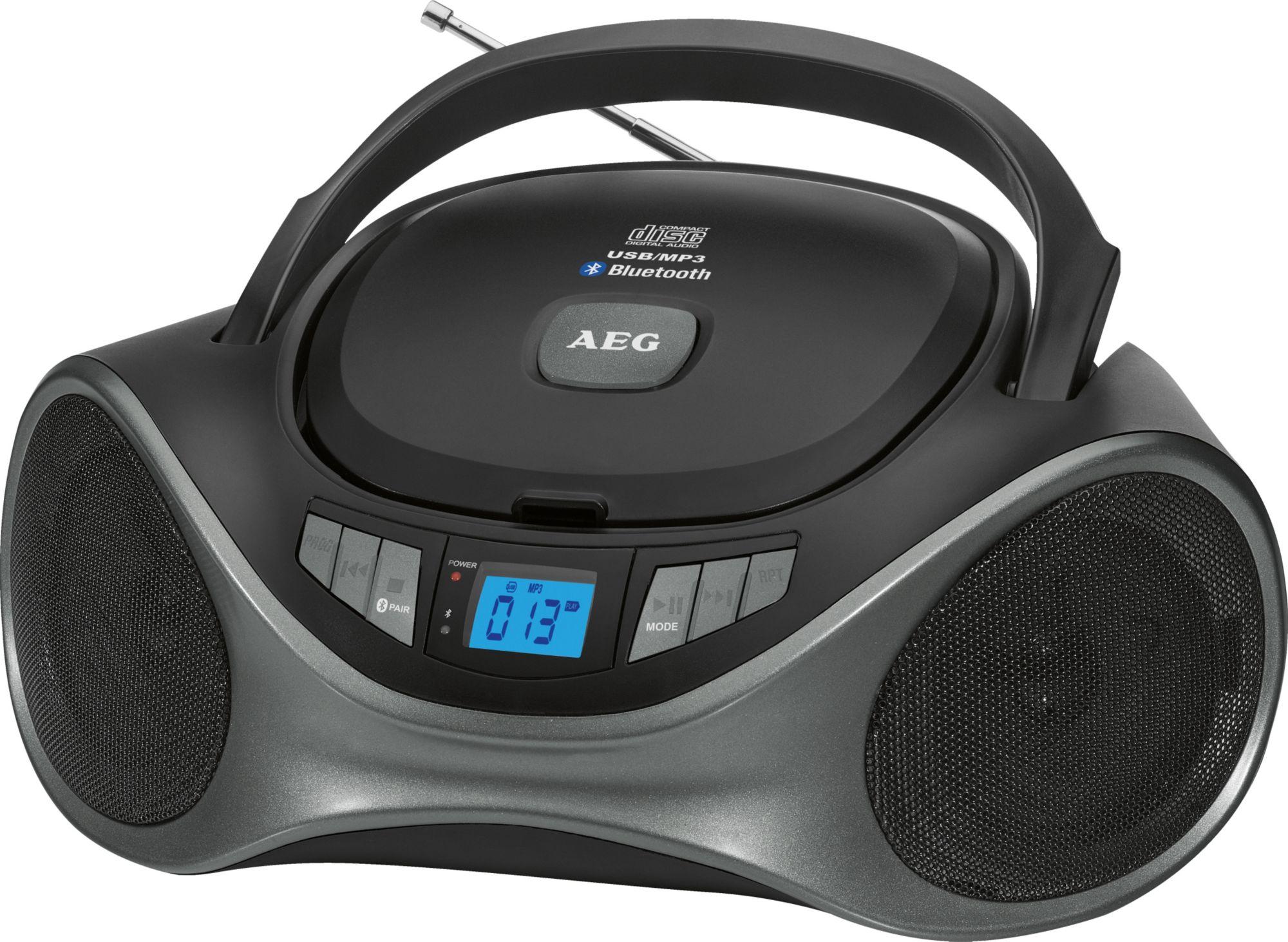 AEG  SR 4375 Stereoradio schwarz