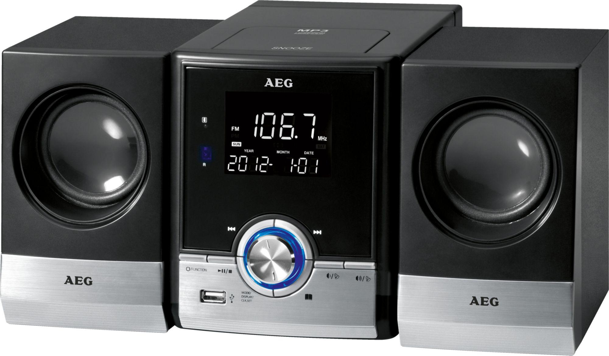 AEG  Bluetooth-Musik-Center mit Radio und CD/MP3-Player »MC 4461 BT«