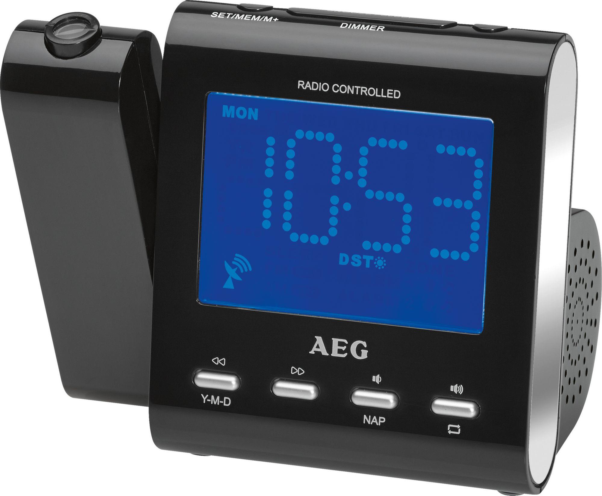 AEG  Funk-Uhrenradio mit Projektion der Uhrzeit »MRC 4122 F N«