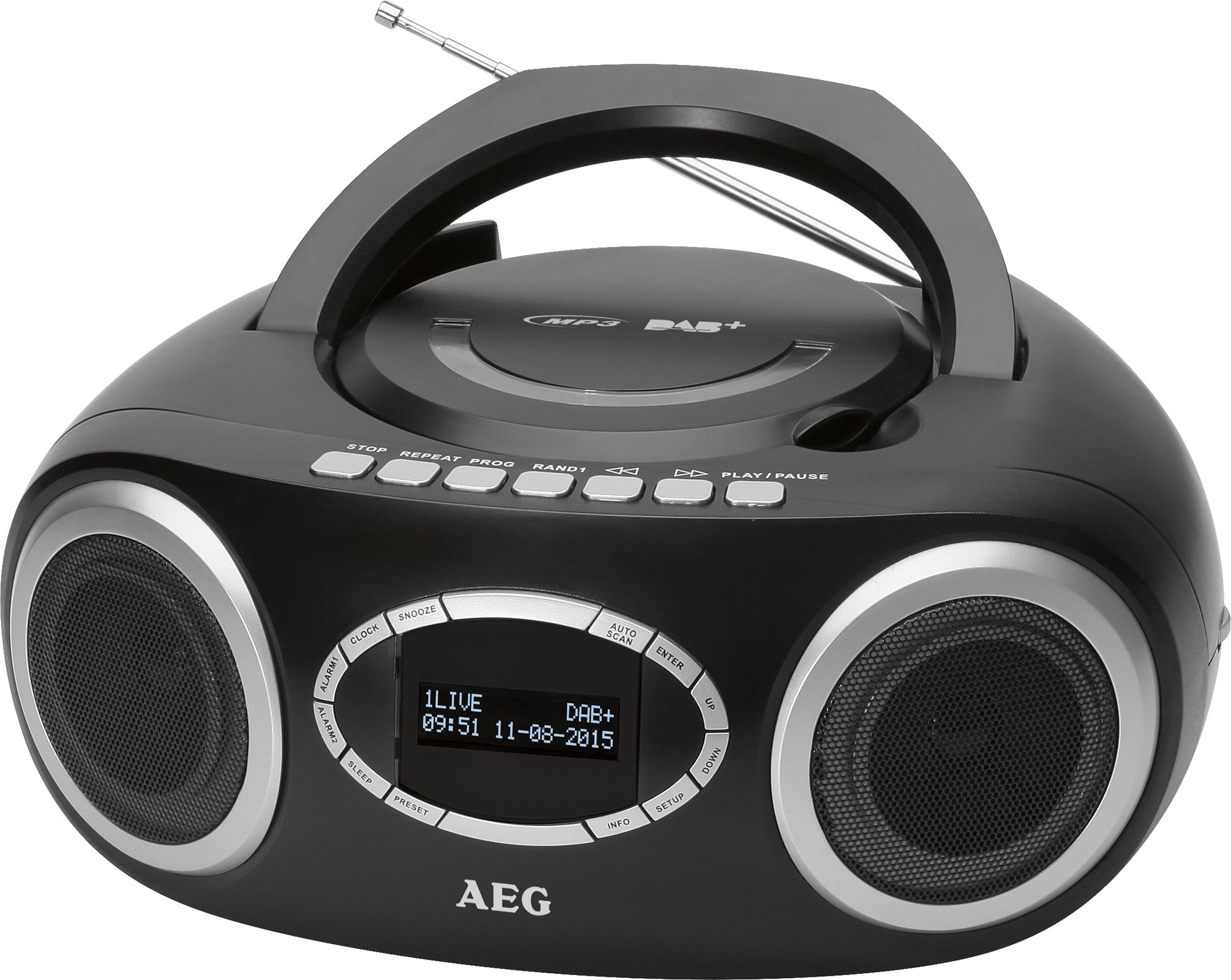 AEG  DAB+ / UKW Stereo-Radio mit CD / MP3 & USB-Port »SR 4370«