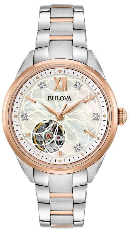 BULOVA Bulova Automatikuhr »Diamonds, 98P170«
