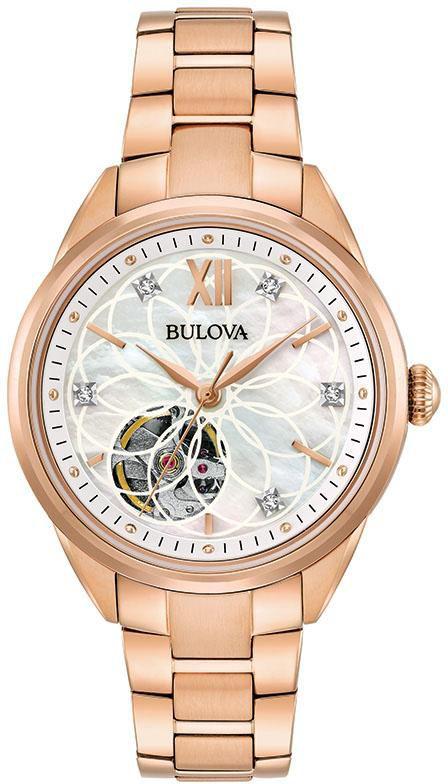 BULOVA Bulova Automatikuhr »Diamonds, 97P121«