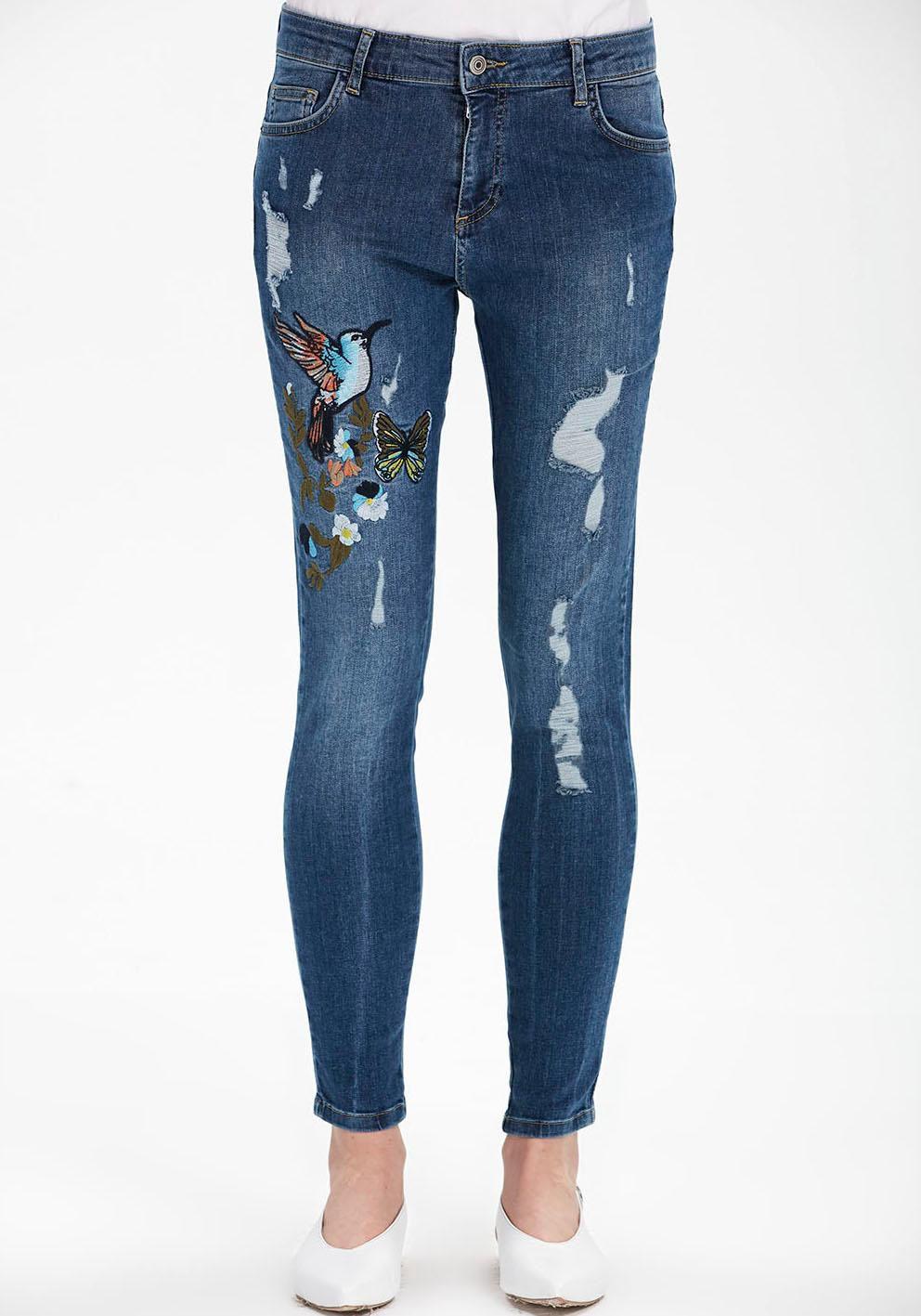 ADL adL Destroyed-Jeans