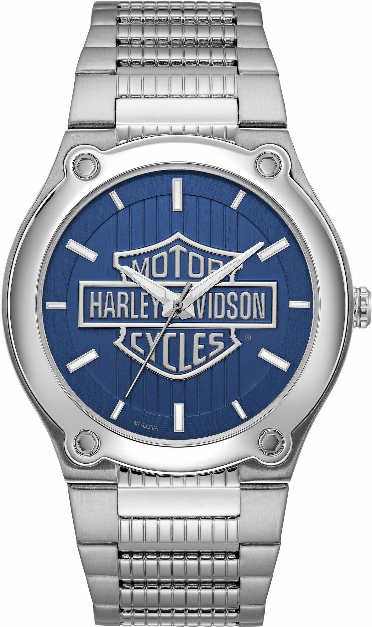 HARLEY DAVIDSON Harley Davidson Quarzuhr »Medallion Dial, 76A159«